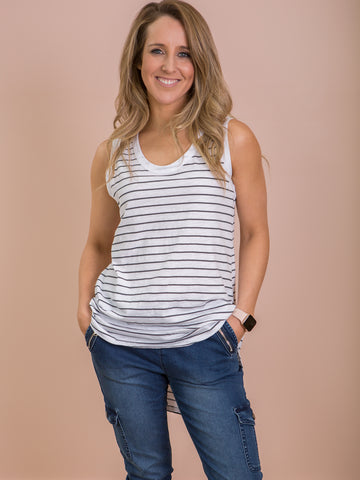 Madison Tank Stripe