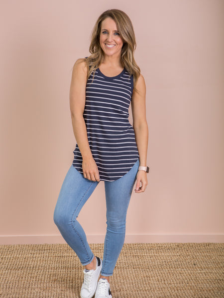 Keira Tank Nautical