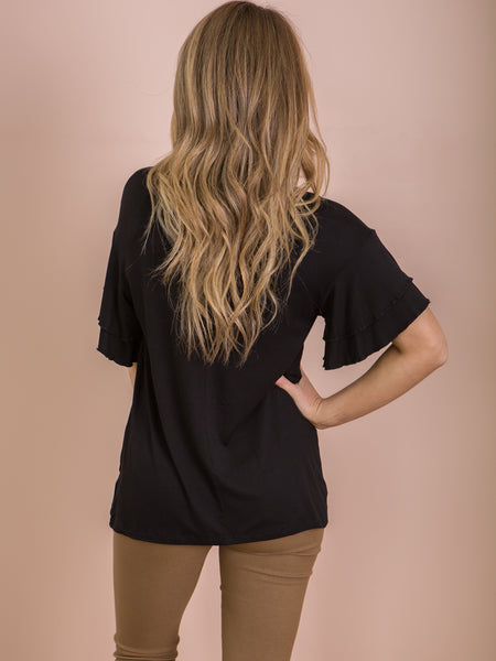Ripon Top - Black