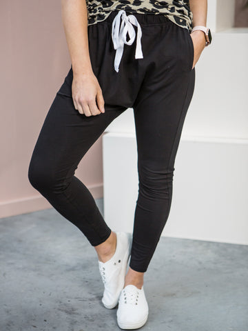 Drew Slouch Pants Black