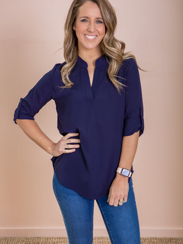 Tilly Shirt - Navy