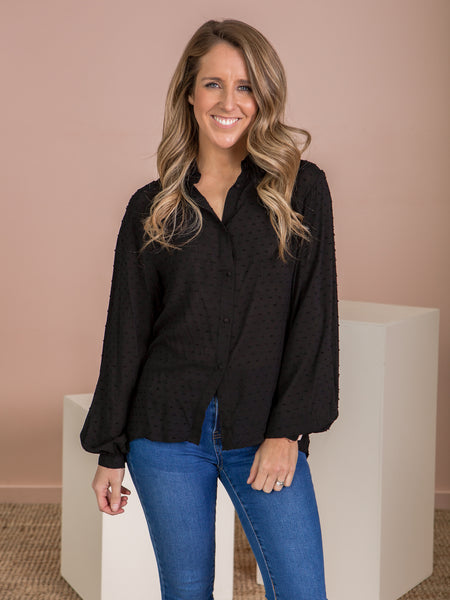 Lacey Top - Black