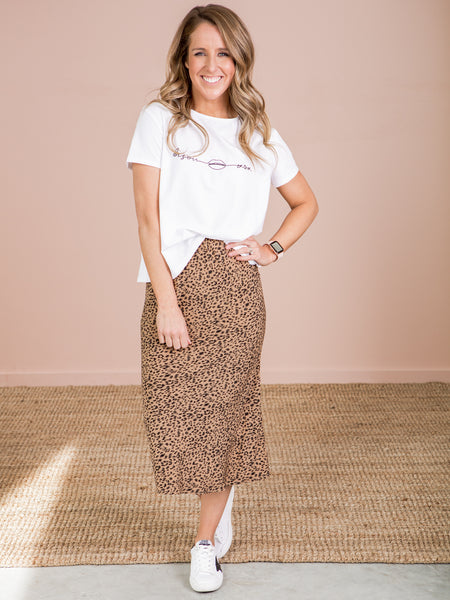 Sally Skirt - Animal print