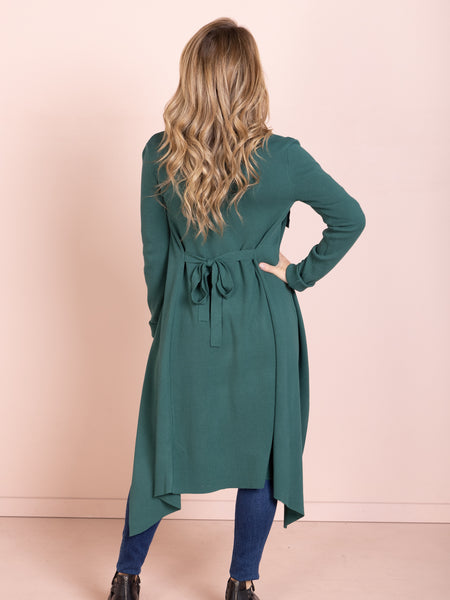 Brooke Cardigan - Dark Green