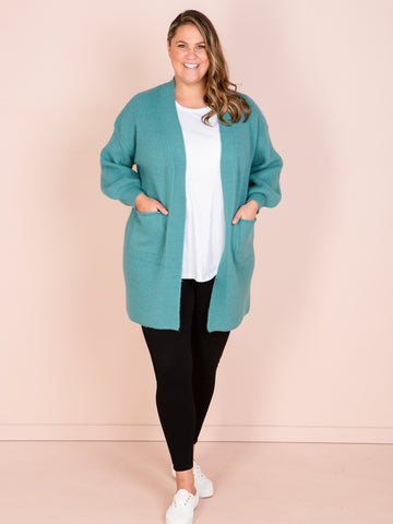 Awaken Cardigan - Teal