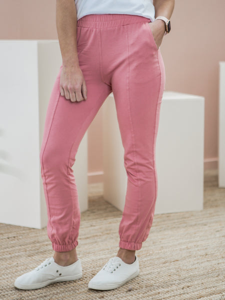 Lydia Track Pant - Pink