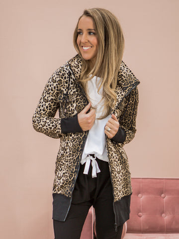 Addison Jacket Leopard