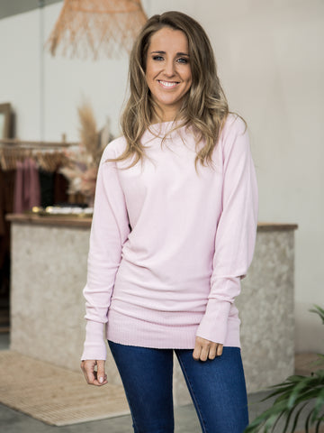 Eliza Knit Jumper - Pink