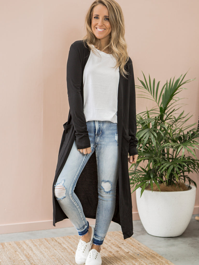 Jessie Cardigan - Black