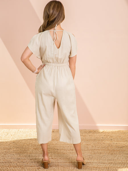 Jules Jumpsuit - Wheat