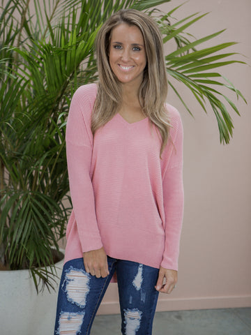 Elsebeth Knit Jumper - Blush
