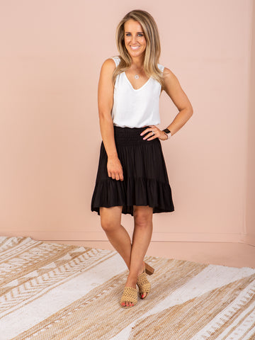 Savannah Skirt - Black