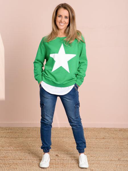 Jovie Freedom Sweater - Green