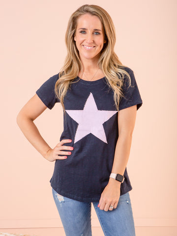 Elm Starry Eyed Tee - Navy