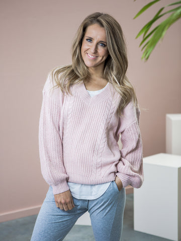 Betty Knit Jumper - Pink