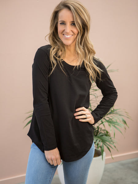 Megan Long Sleeve - Black