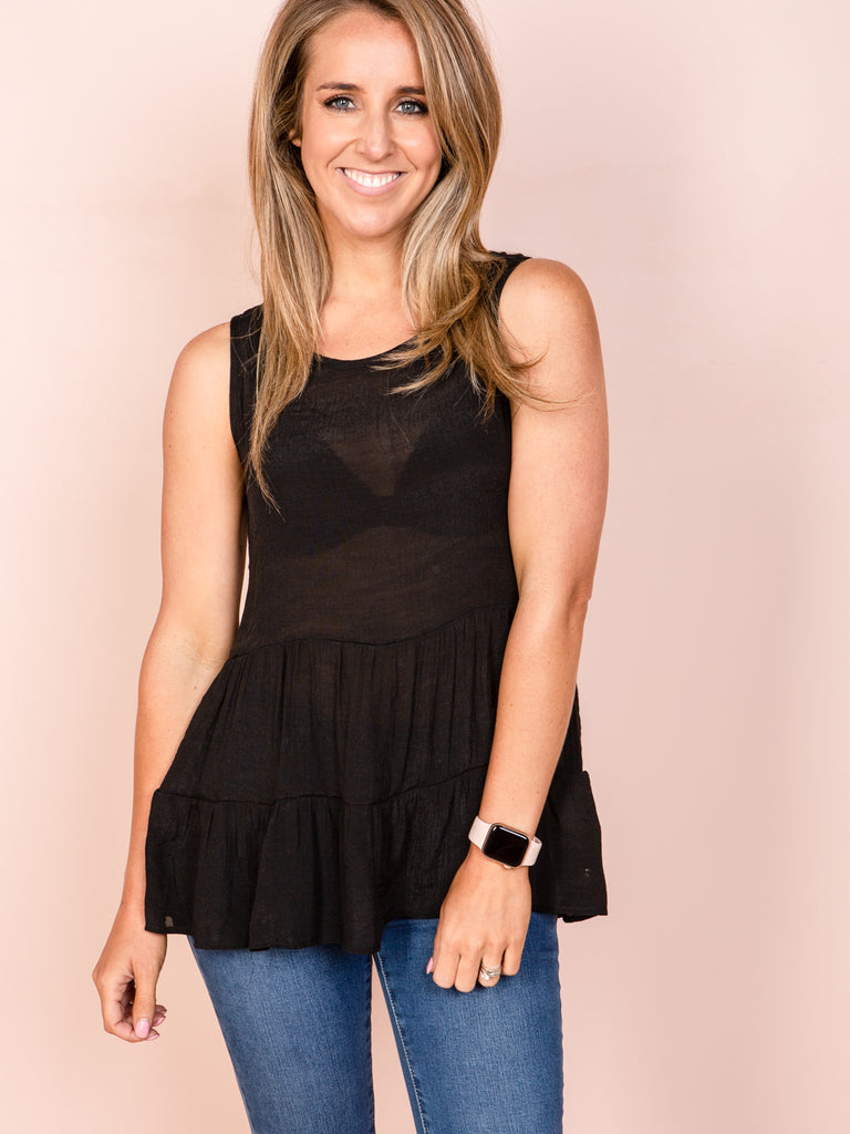 Tayla Top - Black