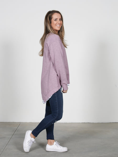 Newhaven Sweater - Lilac
