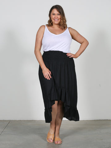 Wild & Free Skirt - Basic Black