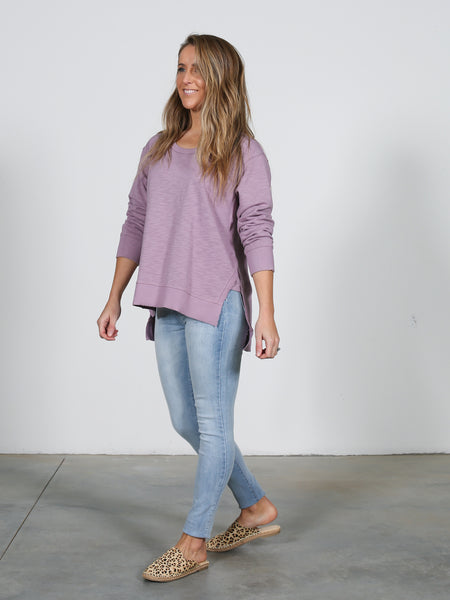 Ulverstone Sweater - Lilac