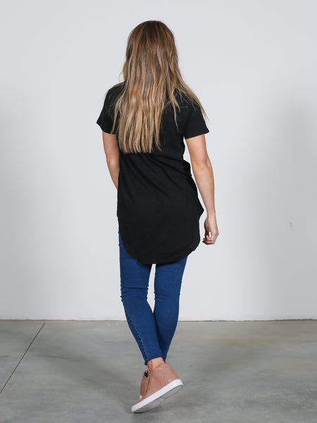 Sorrento Tee - Black