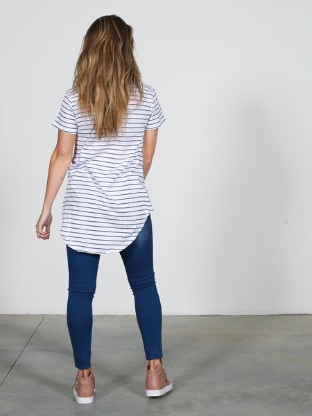 Sorrento Tee - Stripe