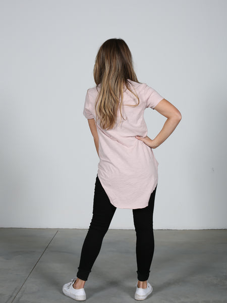 Sorrento Tee - Blush