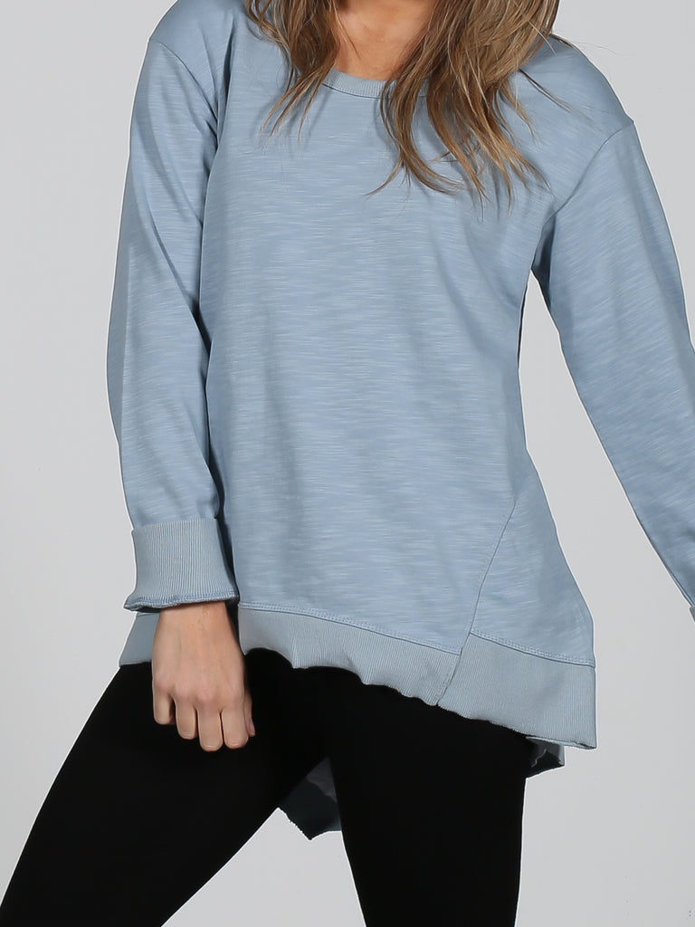 Newhaven Sweater - Duck Egg