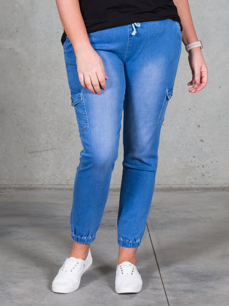 Jenni Joggers Indigo *LONGER LENGTH*