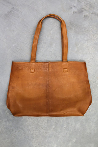 Riga Tote Bag - Tan