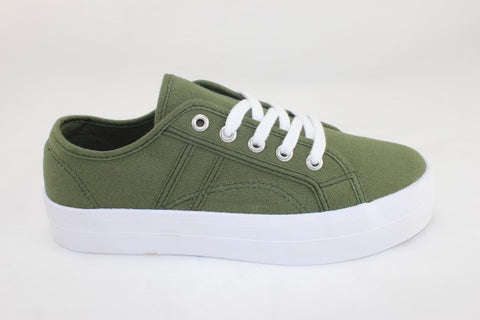 Lift Canvas Sneaker - Khaki