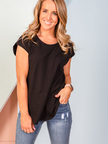 Tulip Top - Black