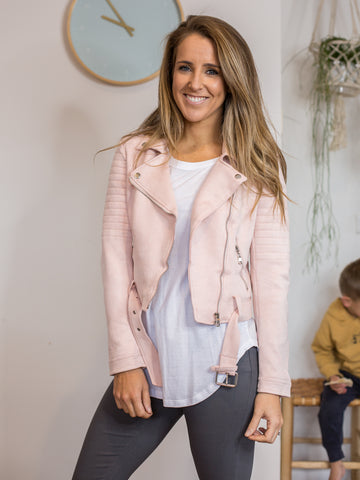 Lexi Jacket Blush
