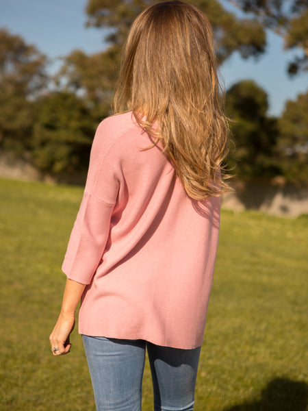 Bodhi Baggy Knit Blush