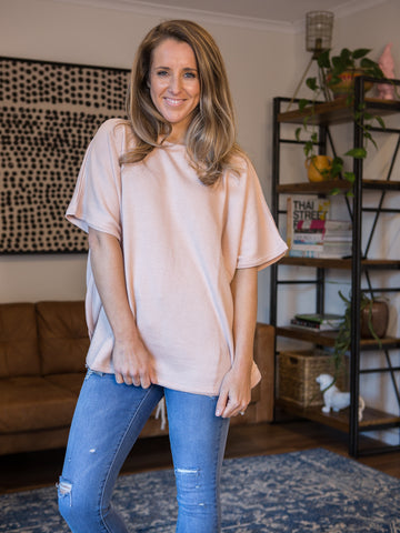 Constance Batwing T-Shirt Crepe