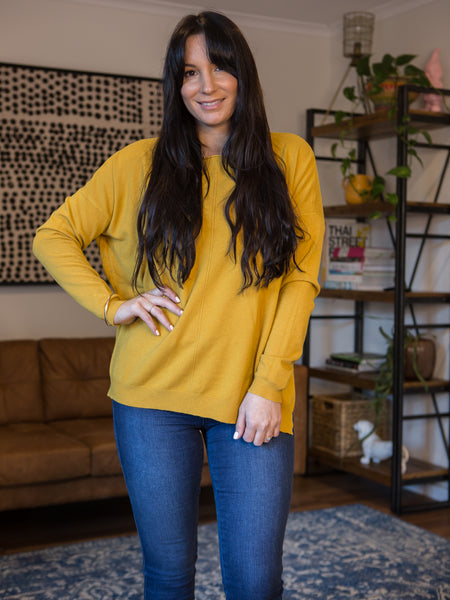 Thrive Knit Saffron