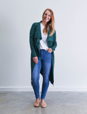 Zara Cardigan Green