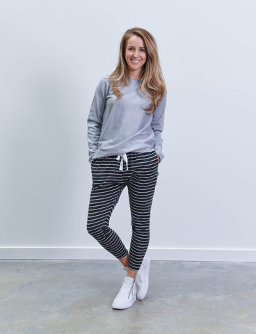 Bondi Trackies Stripe
