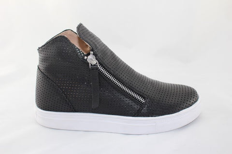 Jetts Heeled Sneaker - Black