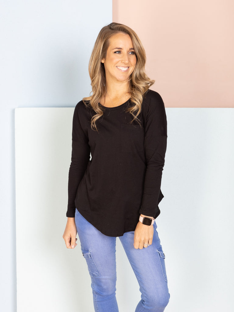 Phoebe Top - Black