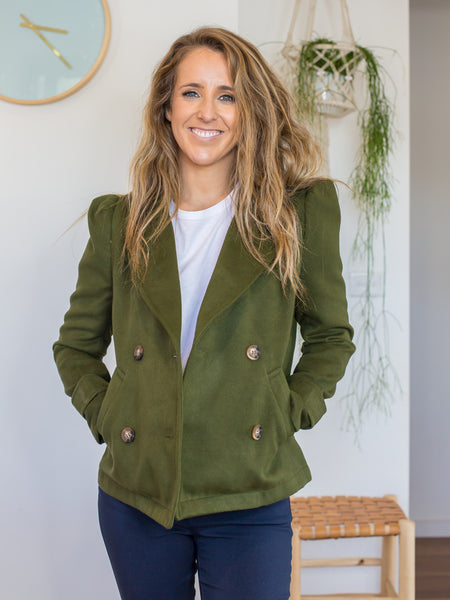 Sofia Jacket Mossgreen