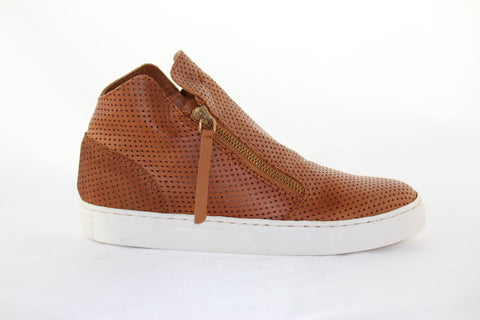 Jetts Heeled Sneaker - Tan