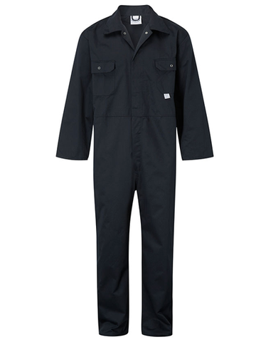 Stud Front Boilersuit (bulk price £12.05 + VAT)