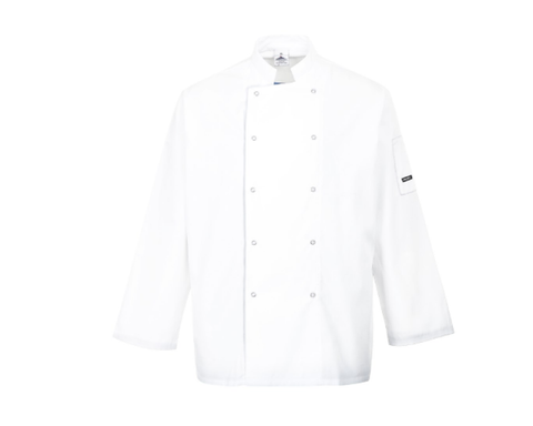 Portwest Suffolk Chefs Jacket (bulk price £12.98 + VAT)