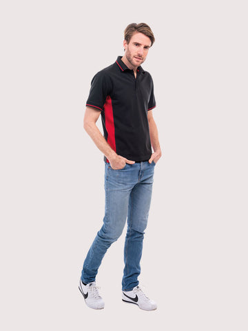 Two Tone Polo Shirt (bulk price from £6.98 + VAT)