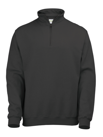 Sophomore Zip Neck Sweatshirt (bulk price £11.93 + VAT)