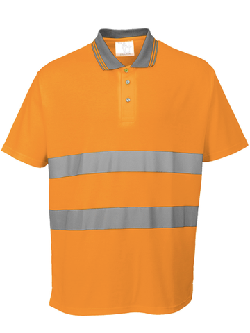 Cotton Comfort Hi-Visibility Polo Shirt (bulk price £8.79 + VAT)