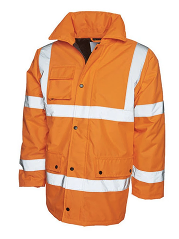 Hi-Visibility Road Safety Jacket (bulk price £15.95 + VAT)