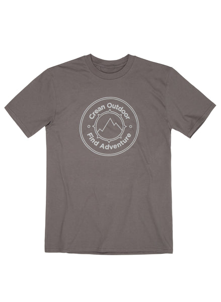 Grey seal short sleeve T shirt