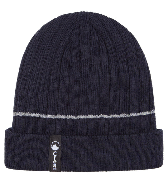Kids  insulated beanie with reflective stripe
